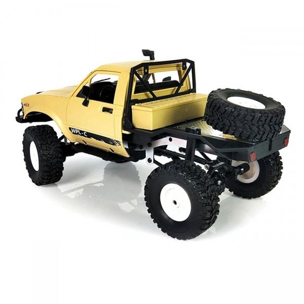 s-idee® Offroad Truck mit 2,4 GHz 4WD bis 10 km/h 1:16 sand